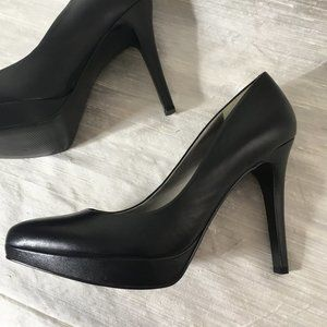 Marc Fisher Leather Platform Heels - sz 10